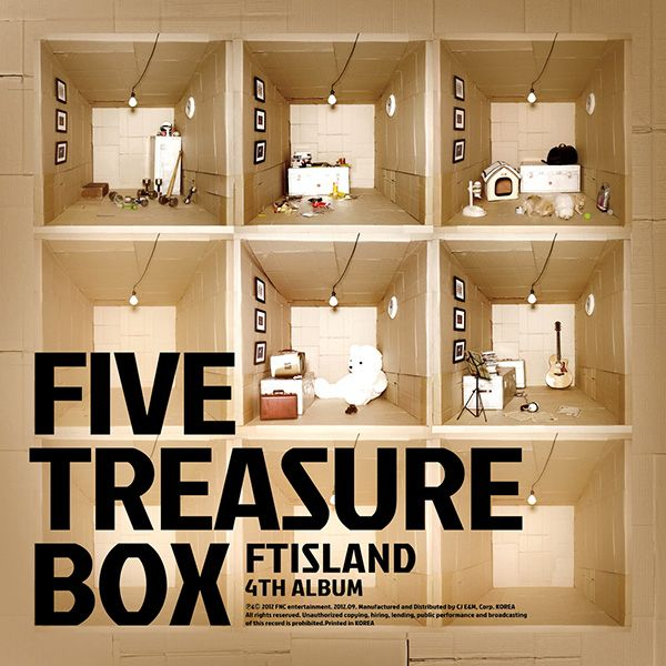 [Album] FT ISLAND - FIVE TREASURE BOX [VOL. 4]