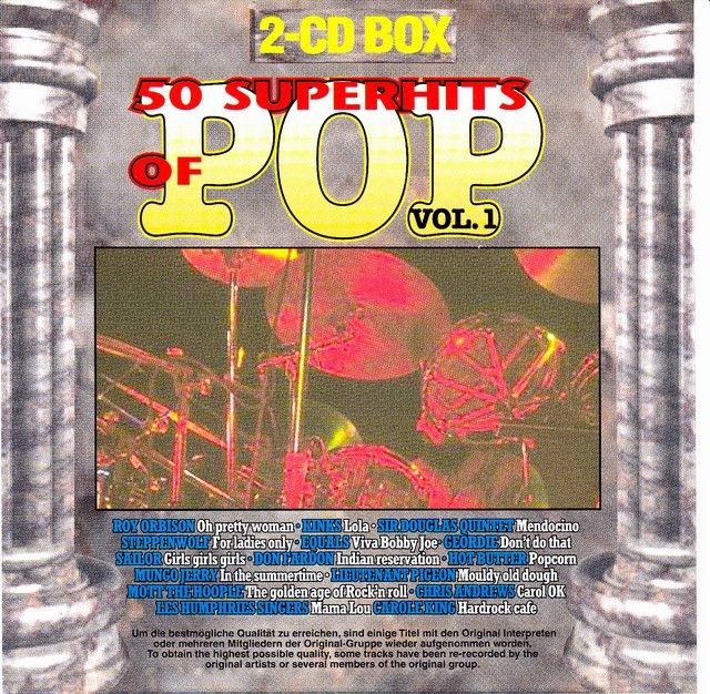 VA - 50 Superhits Of Pop Vol.1 (1997)