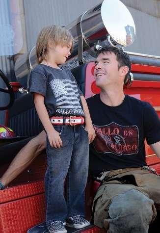 Gallo en Fuego kids' belts on Cool Mom Picks
