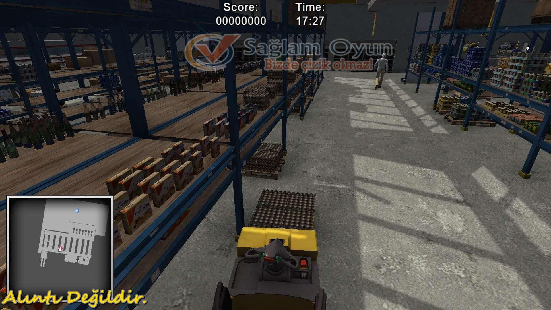 Forklifter-simülator