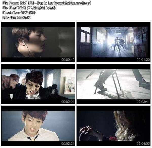 Download [MV] BTS – Boy In Luv [HD 720p Youtube]