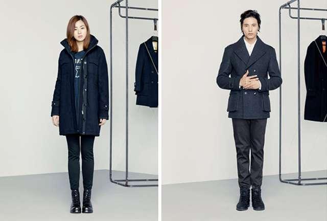 Basic House Winter 2012 Campaign With Won Bin Amp Kang So Ra