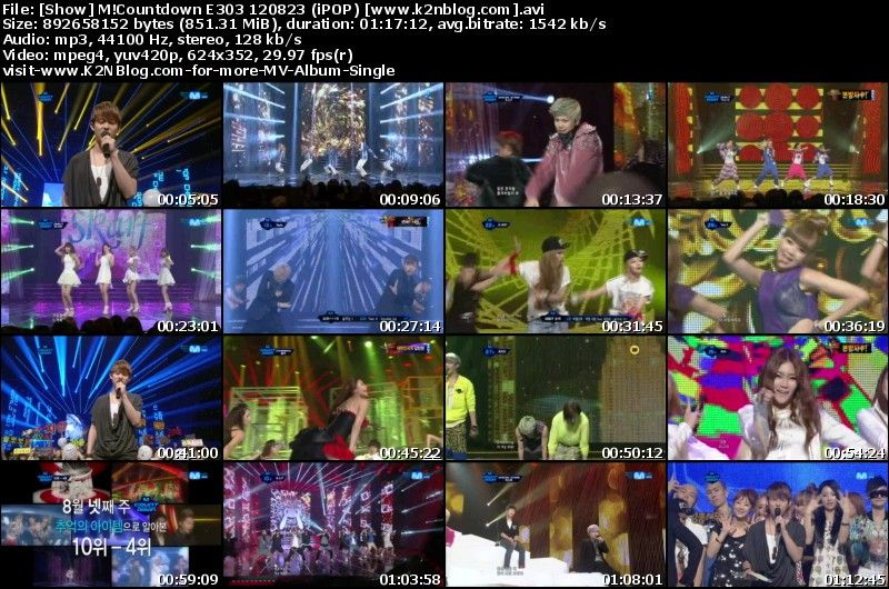 [Show] Mnet M!Countdown E303 120823