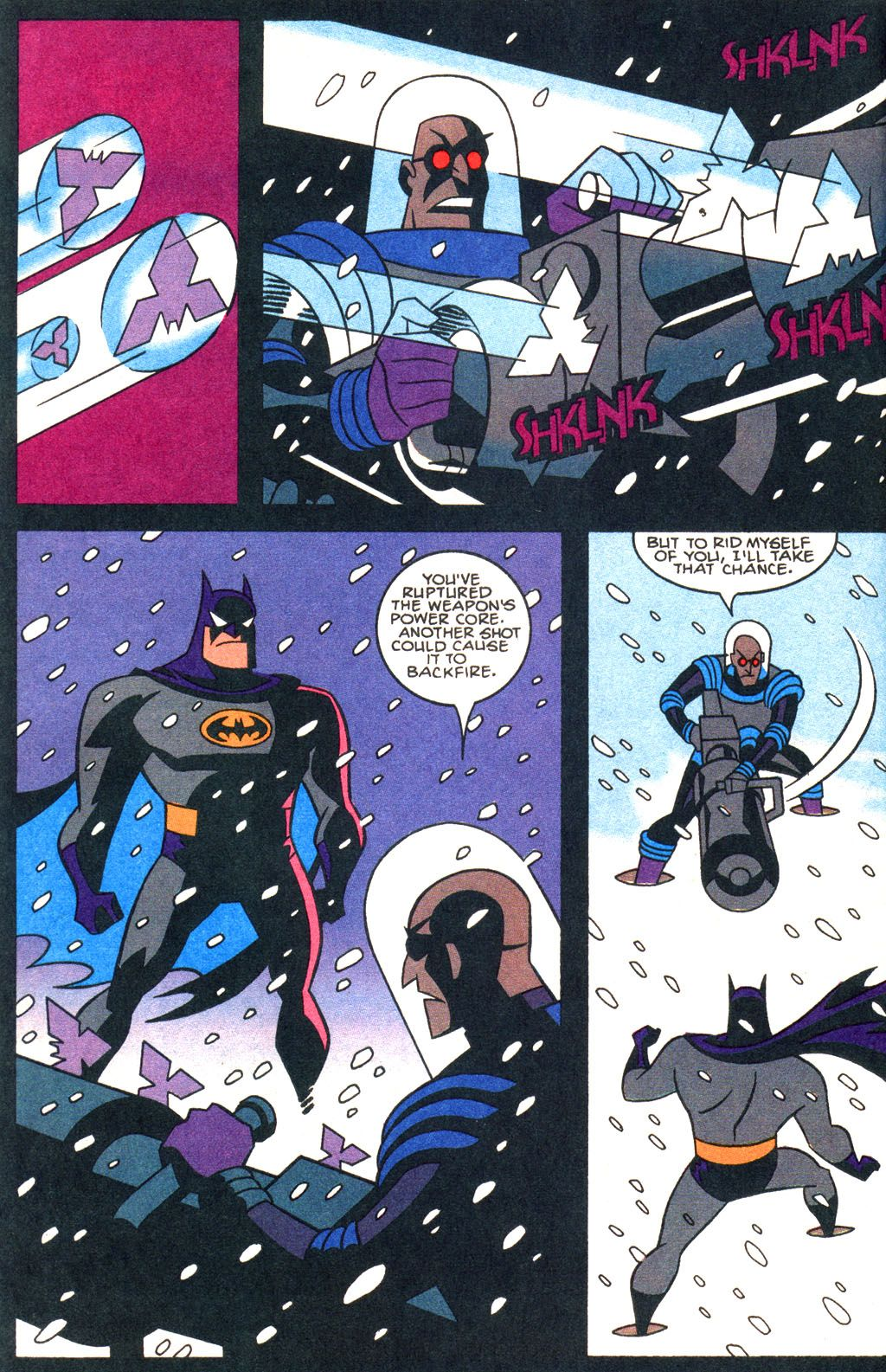 scans_daily | Villains Being Awesome: Mr Freeze\'s Christmas Gift