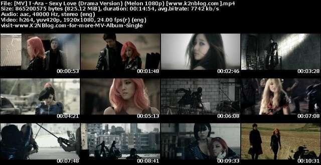 [MV] T-Ara - Sexy Love (Drama Version) (Melon HD 1080p)