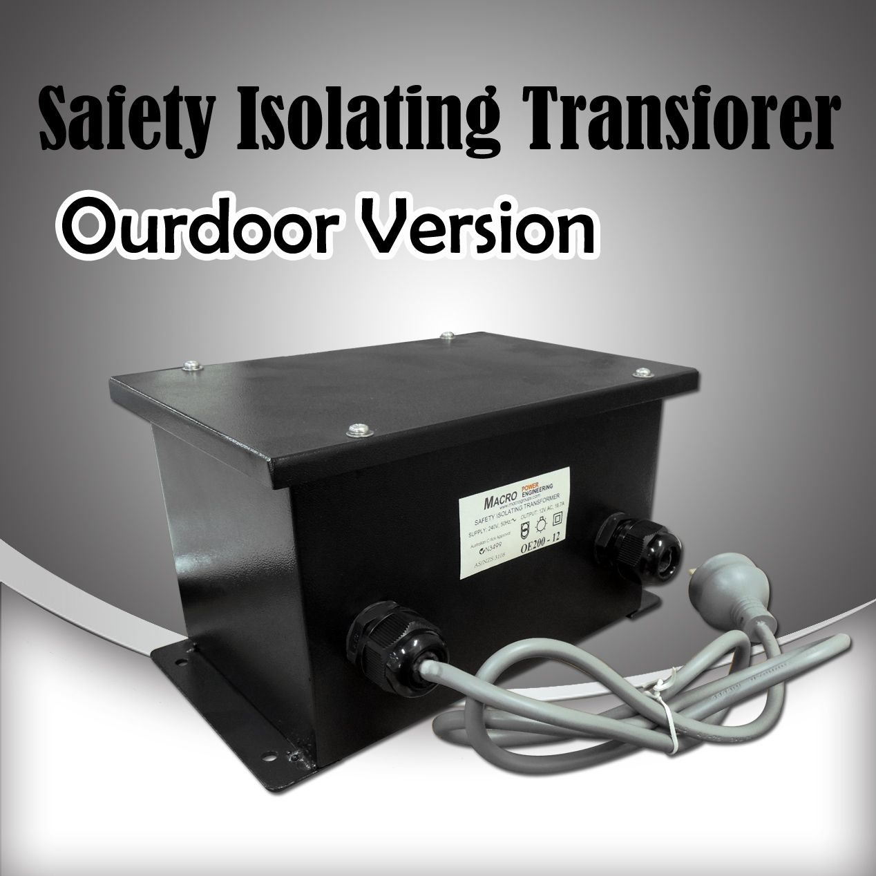 Outdoor Weatherproof 12v Ac Low Voltage Safety Isolating