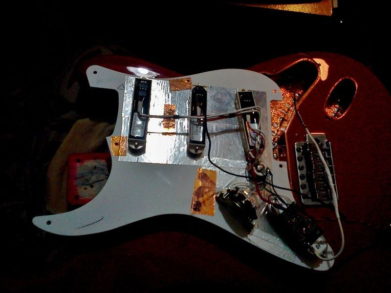 NGD: Red Strat with EMG DG20 | The Gear Page