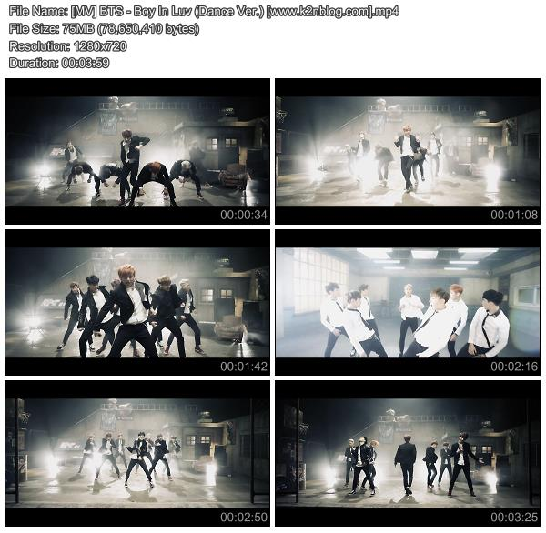 Download [MV] BTS – Boy In Luv (Dance Ver ) [HD 720p Youtube]