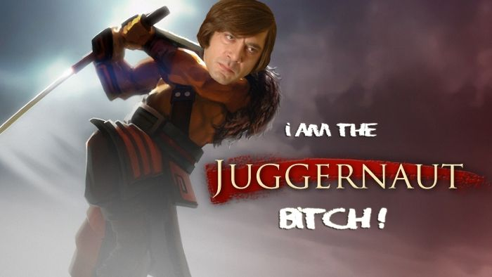 I am the juggernaut !