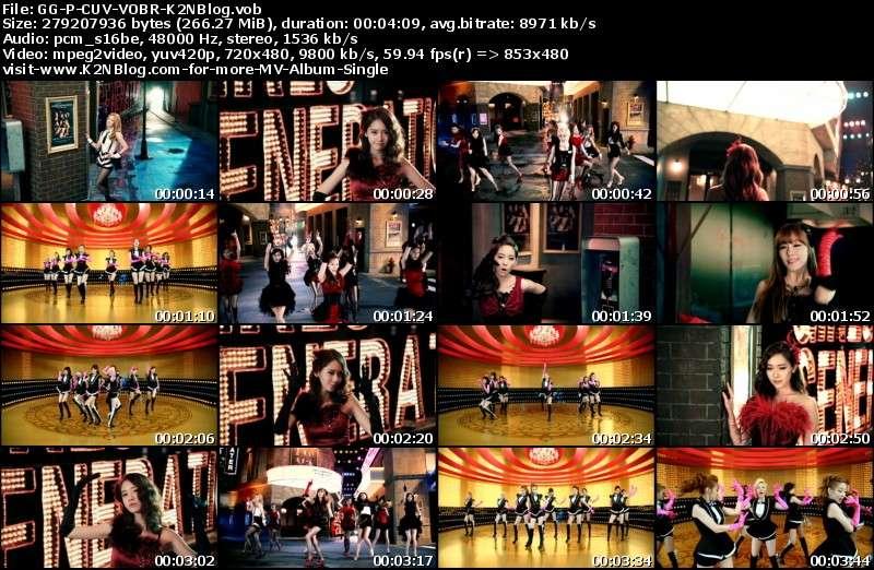[PV] Girls' Generation (SNSD) - PAPARAZZI (Close-Up Ver.) [VOB Retail]