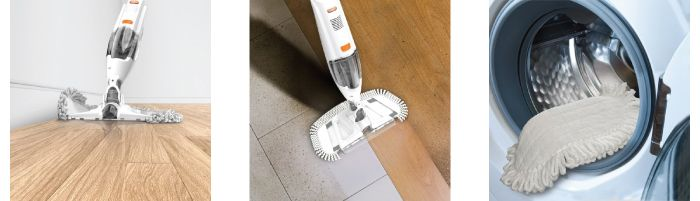 Buy Vax Dust Amp Vac Hard Floor Cleaner At Home Bargains