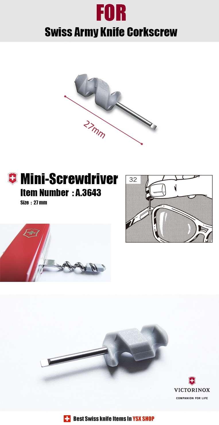 Victorinox Swiss Army Knife Accessories 27mm Mini