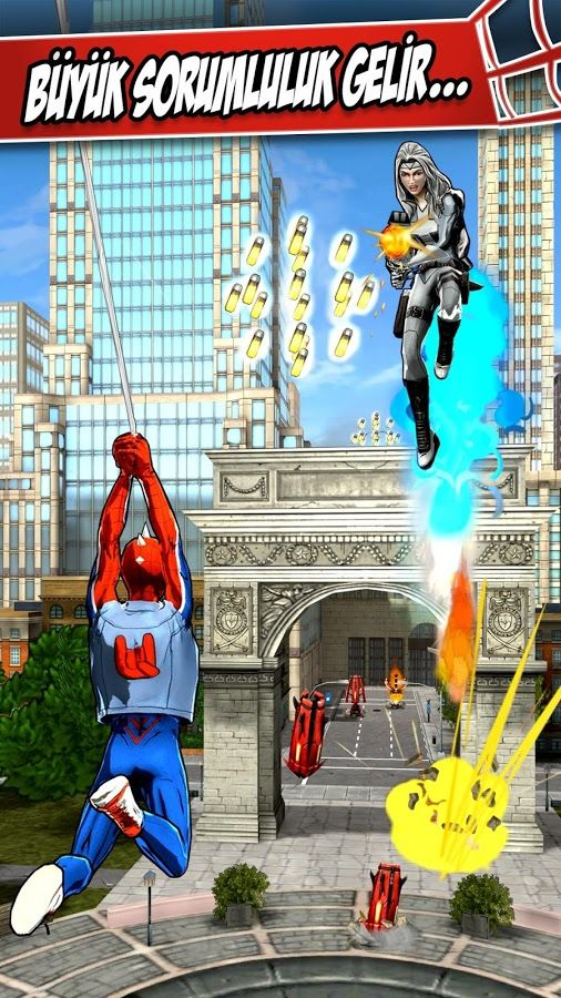 Spider-Man Unlimited-android-apk-indir
