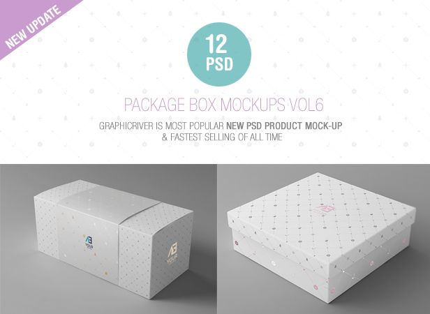 Nulled [Package Box Mockups Vol6 item nulled - 9533868