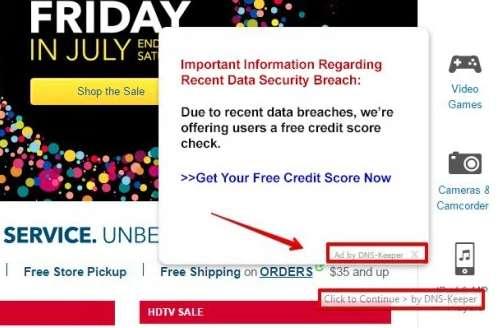 Usuń reklamy po prostu DNS-Keeper