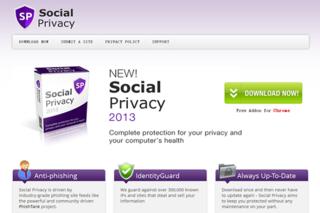 SocialPrivacy Anuncios