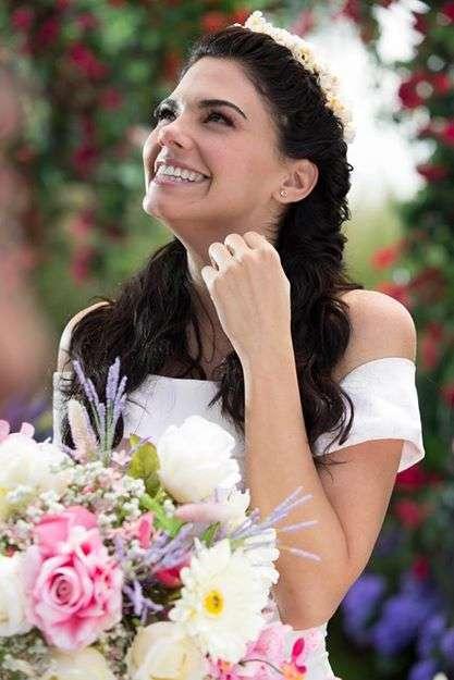 Livia Brito vestido de novia