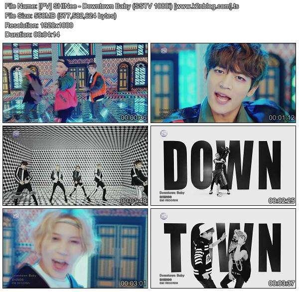 Download [PV] SHINee – Downtown Baby [SSTV HD 1080i]