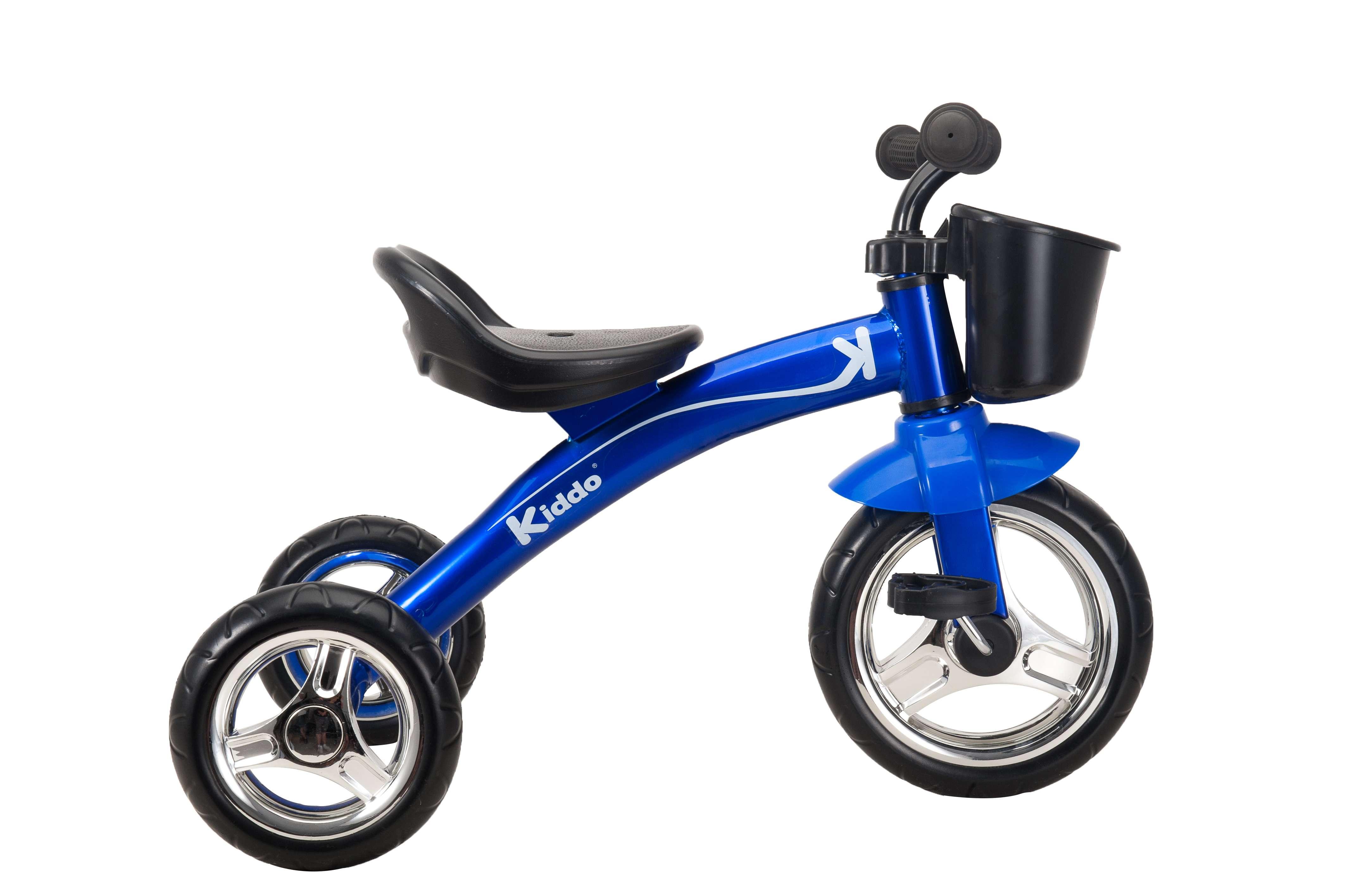 Kiddo Blue 3 Wheel Smart Design Kids Child Children Trike