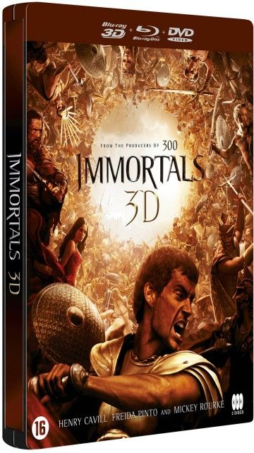 Immortals (2011) BDRA BluRay 3D Full AVC DD ITA DTS-HD RUS - DB