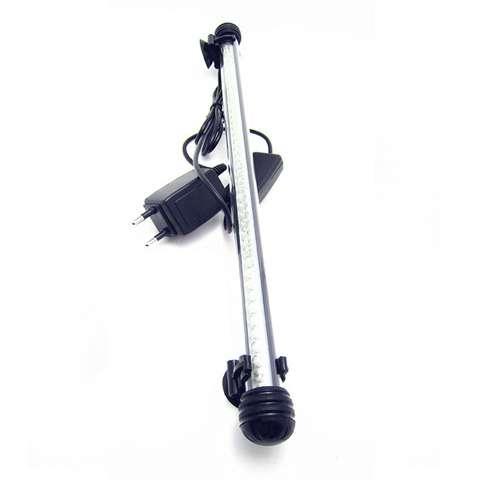 Lampada tubo neon led bianco per acquario 40 cm waterproof for Luci tubolari a led