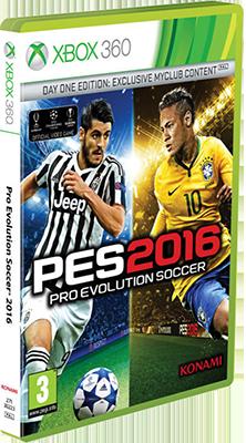 [XBOX360] Pro Evolution Soccer 2016 (2015) - FULL ITA