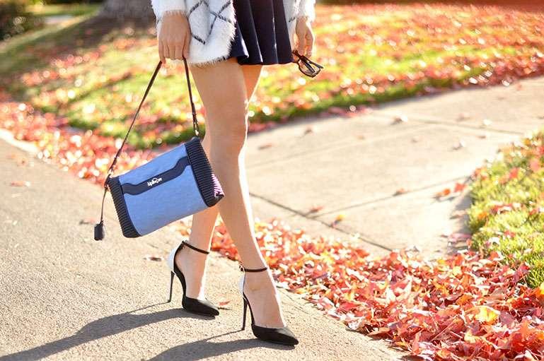 winter-outfit-olive-jacket-style-purple-bag-longchamp-lepliage