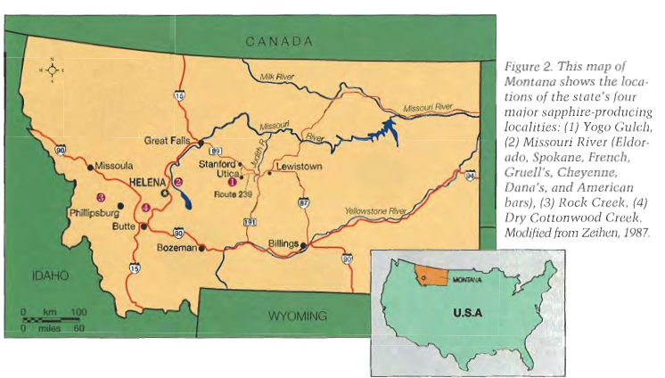 GemologyOnline com • View topic - Montana Sapphires