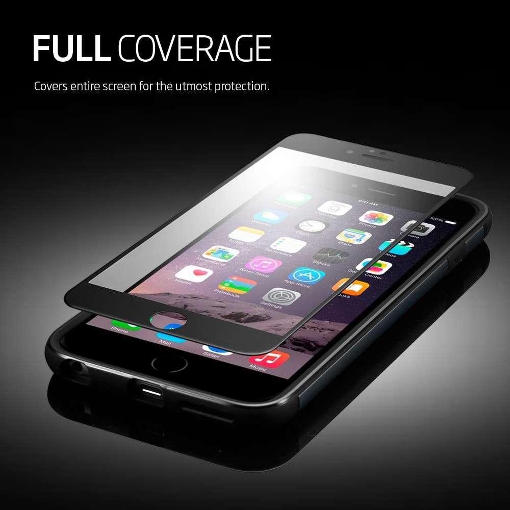 best service ba1f3 40bc6 Ori SPIGEN iPhone 6S 6 Screen Protector Full Cover Glass vf Warranty