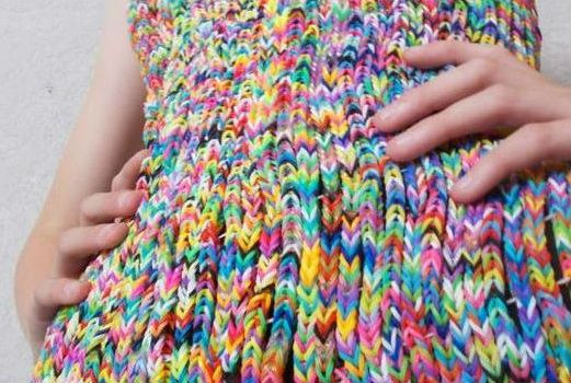 Robe en Loom band