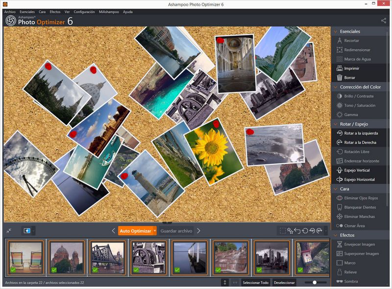 Ashampoo Photo Optimizer mejora tu flujo de trabajo fotográfico en lotes