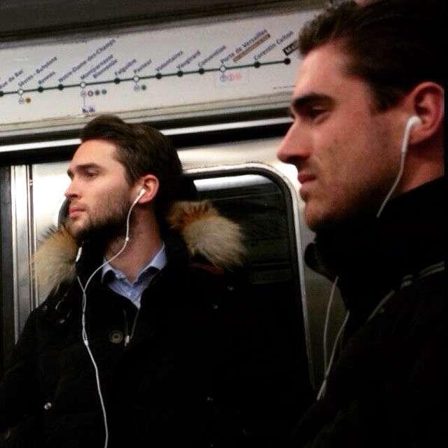 Beaux gosses du métro parisien