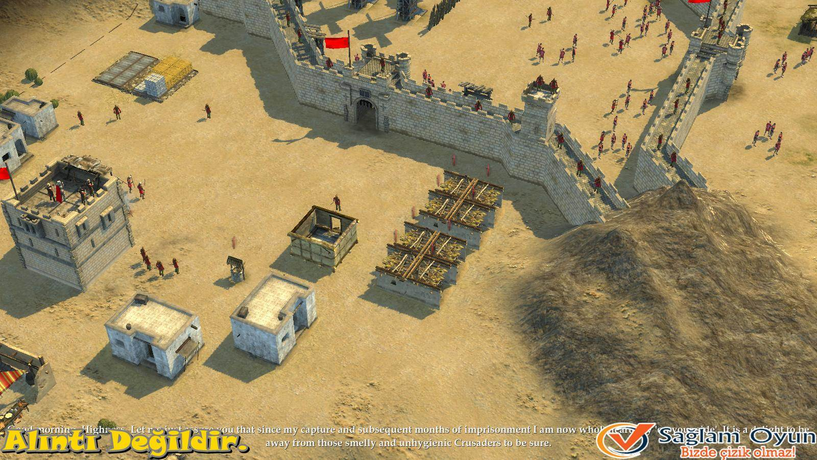 Stronghold Crusader 2: The Emperor and The Hermit-1