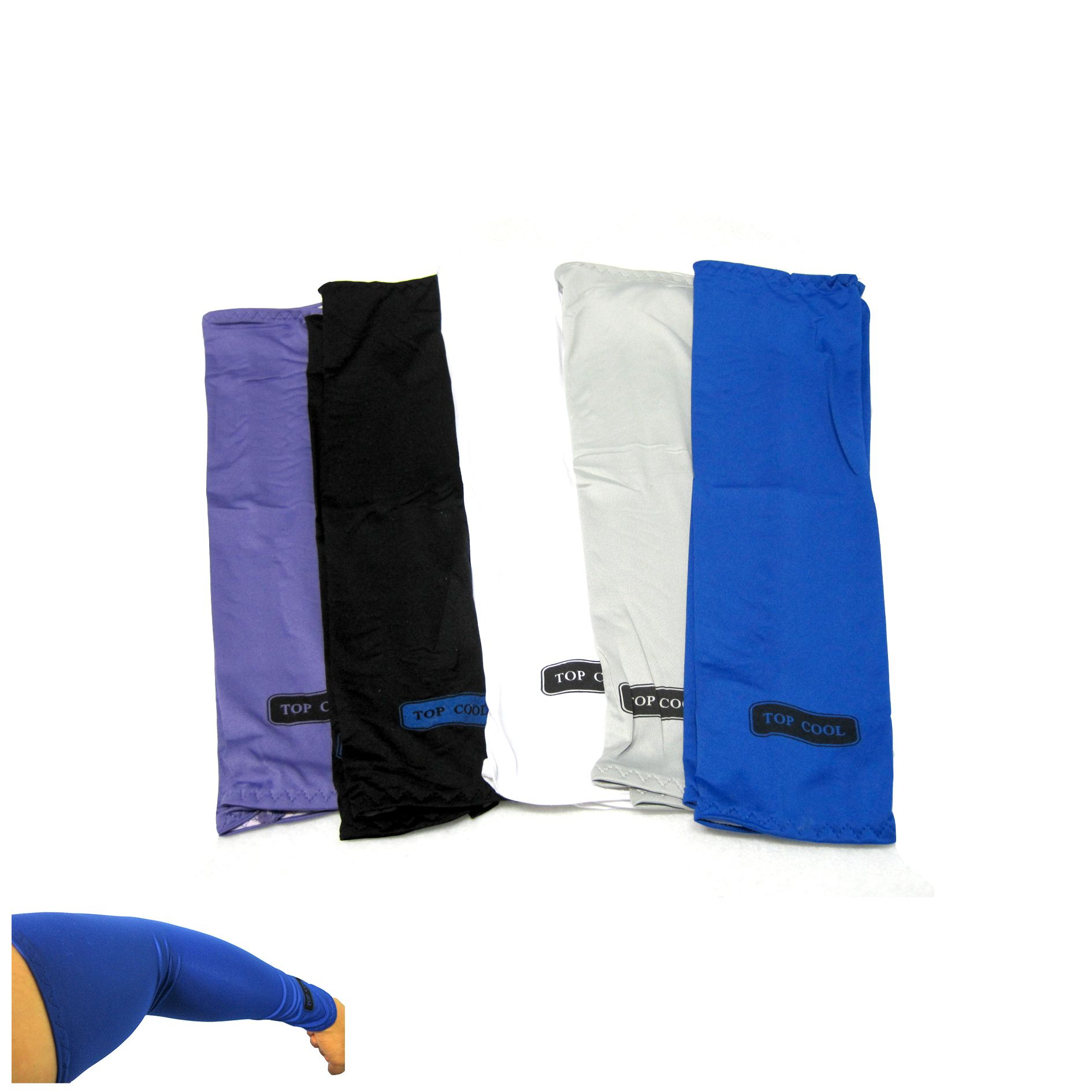 Men S 2c Cooling Down Arm Sleeves Cover Sun Uv Protection