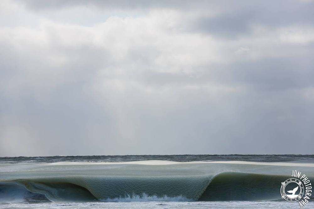 Vagues gelées - Nantucket - Jonathan Nimerfroh
