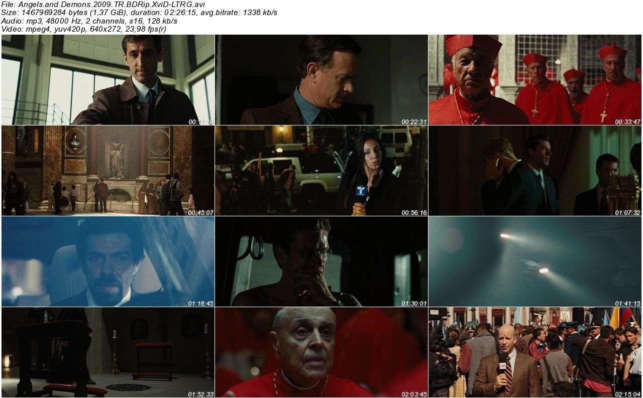 Melekler ve Şeytanlar - 2009 BDRip XviD - Türkçe Dublaj Tek Link indir