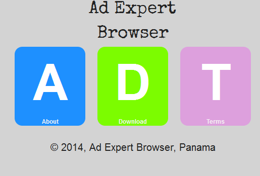 Ad Expert Browser