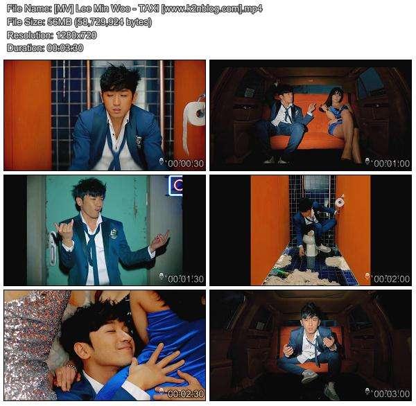[MV] Lee Min Woo (M) - TAXI [HD 720p Youtube]