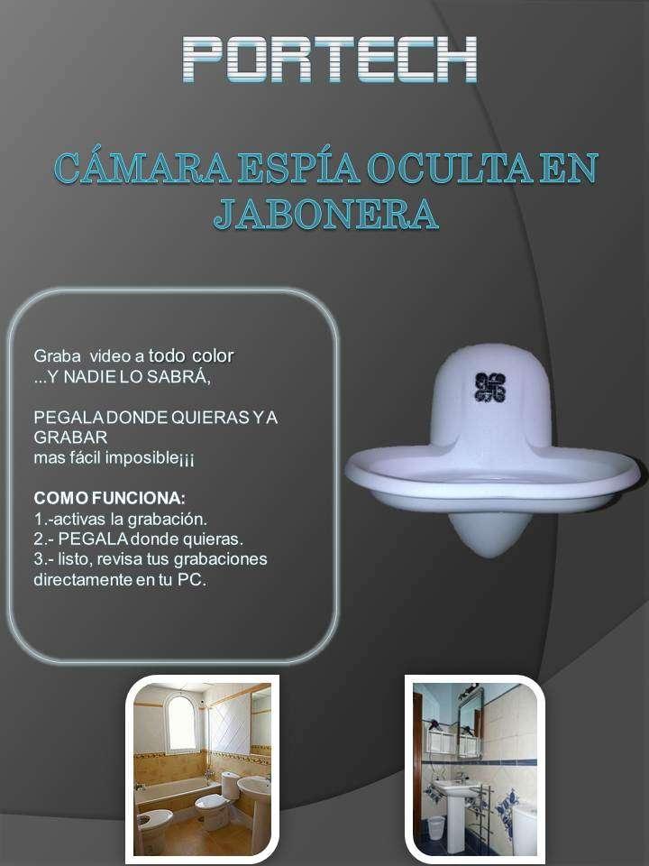 Mini Camara Espia Oculta En Jobonera Para Baño Dvr $2550 ...