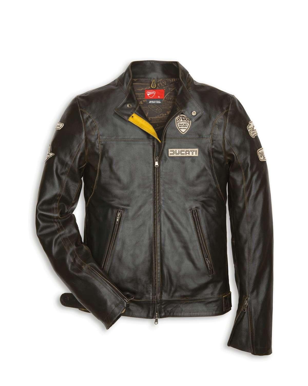 Ducati historical leather jacket