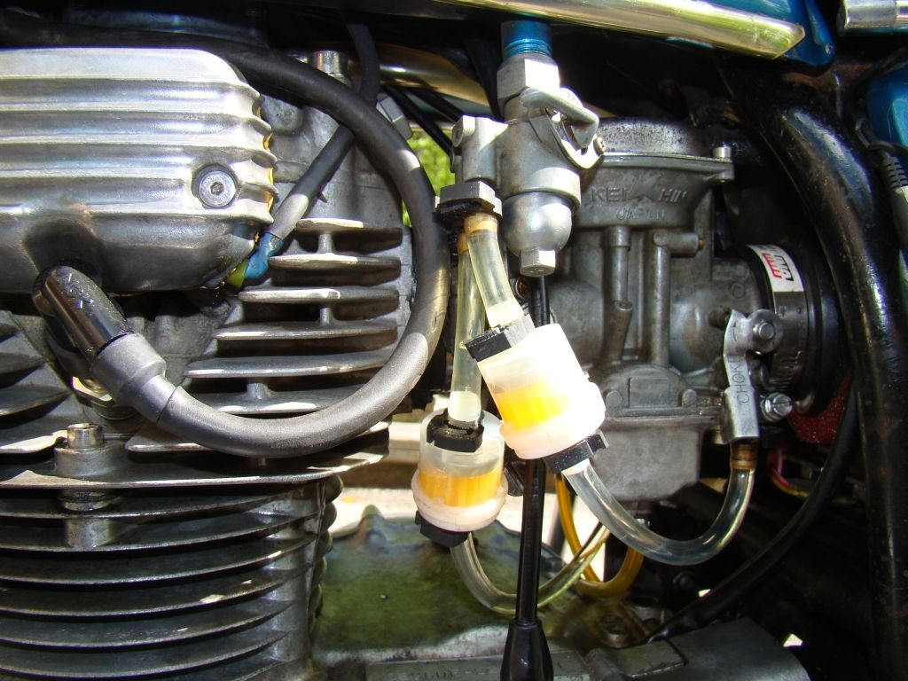 76 Cb360t Restore Running Now With E Advance Ignition