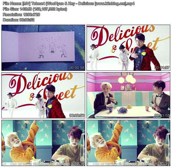 [MV] Toheart (WooHyun & Key) - Delicious [HD 720p Youtube]