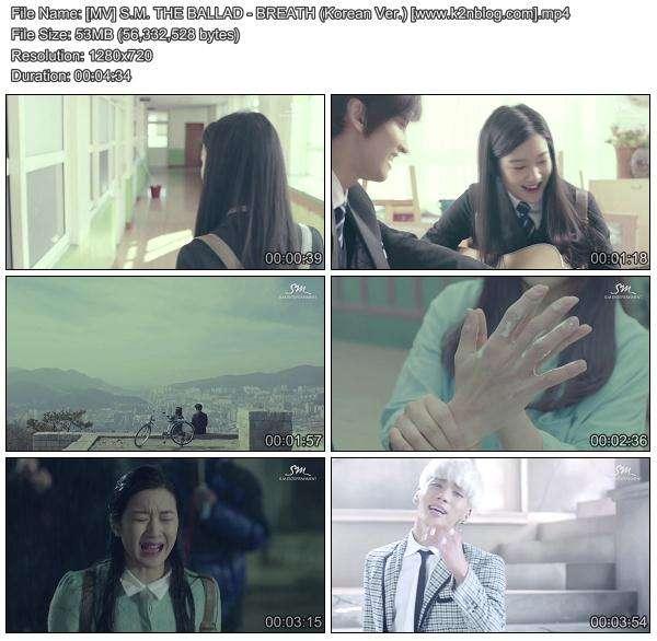 [MV] S.M.THE BALLAD (Jonghyun & Taeyeon) - Breath (Korean Version) [HD 720p Youtube]