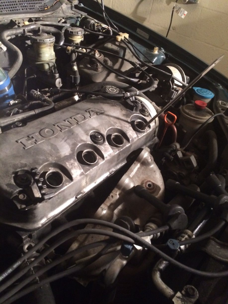 97 Civic Lx D16y7 Head Gasket And Exhaust Replacement Honda Tech