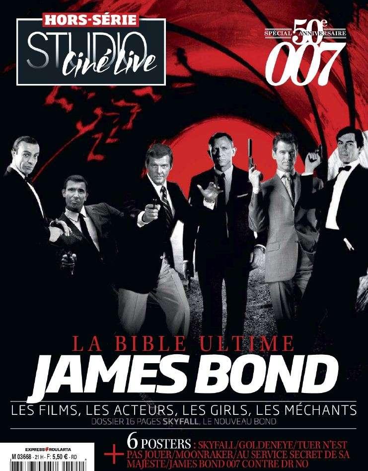 Studio Ciné Live Hors-Série 21 – Spécial James Bond