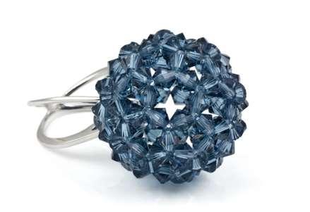 k2o Pop Ring in blue