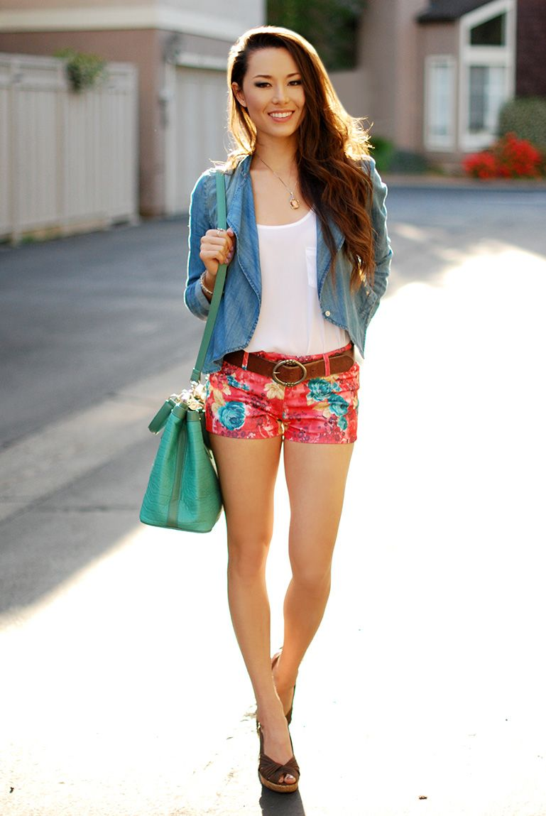 Winter Lennon Floral Shorts