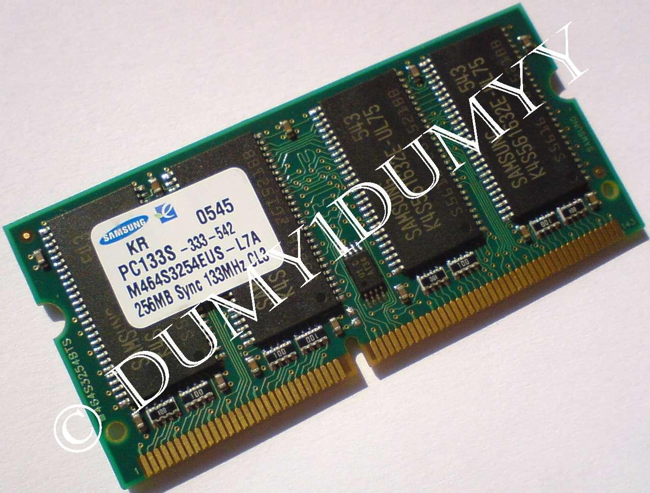 2X256MB DDR2 MEMORY RAM PC2-6400 SODIMM 200-PIN 512MB