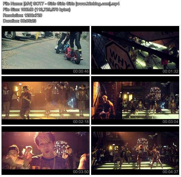 [MV] GOT7 - Girls Girls Girls [HD 720p Youtube]