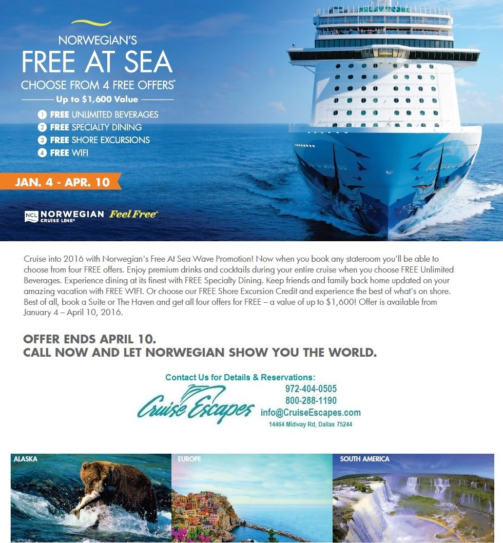 NCL Free At Sea